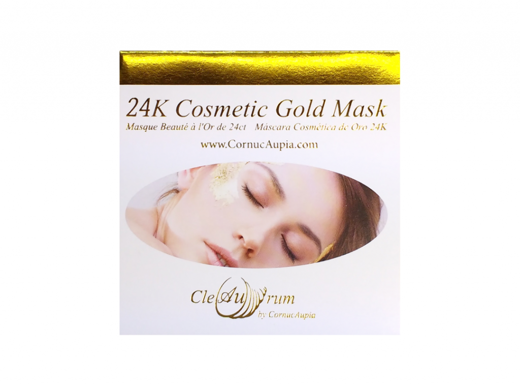 24K Gold Leaf Facial Mask Booklet