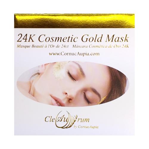 24K Gold Mask - Facial Booklet