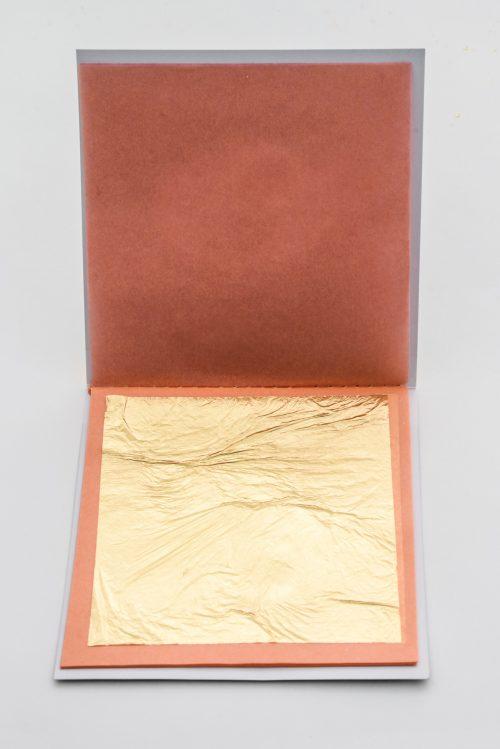 24K Edible Gold Leaf Sheets Loose