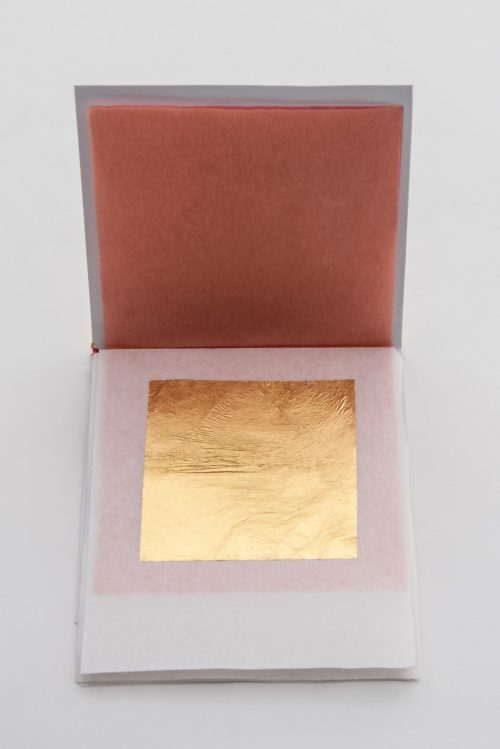24K Gold Leaf Cosmetic Mask Booklet