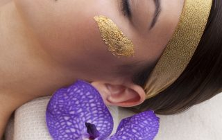24K Gold Leaf Luxury Spa Treatment