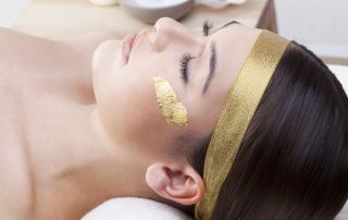 Luxury Spa Treatments with Gold Leaf