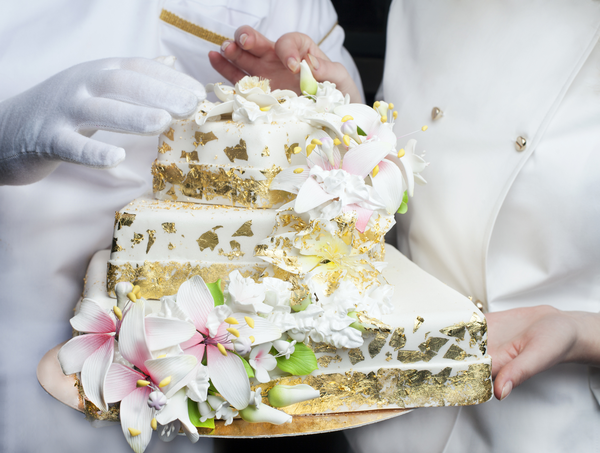 Edible Gold Leaf for Cakes
