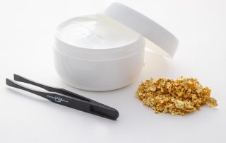 Put real 24K gold into any facial cream, scrub, or oil.